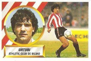 Liga 88-89. Urtubi (Ath. Bilbao). Ediciones Este.