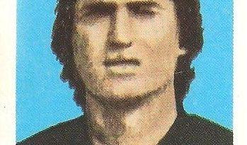 Eurocopa 1984. Moraru (Rumanía). Editorial Fans Colección.