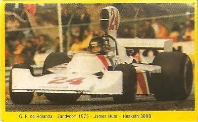 Grand Prix Ford 1982. James Hunt (Hesketh). (Editorial Danone).