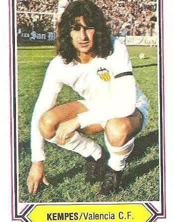 Liga 80-81. Kempes (Valencia C.F.). Ediciones Este.