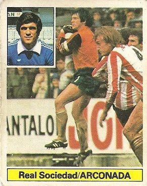Liga 81-82. Arconada (Real Sociedad). Ediciones Este.