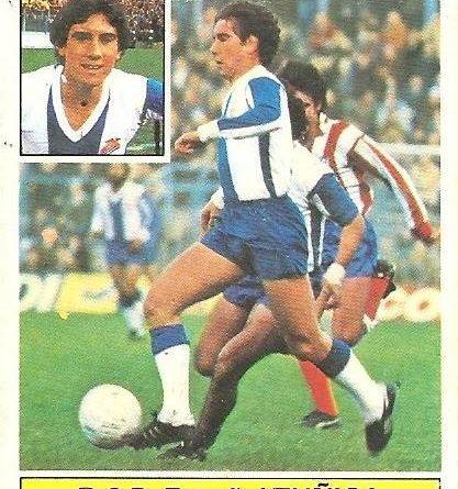 Liga 81-82. Zuñiga (R.C.D. Español). Ediciones Este.