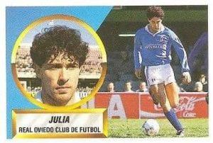 Liga 88-89. Juliá (Real Oviedo). Ediciones Este.