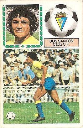 Liga 83-84. Dos Santos (Cadiz C.F.). Ediciones Este.
