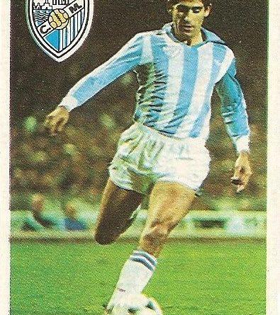 Diego Armando Maradona. Sus driblings. Sus goles. Liga 84-85. Hierro I (C.D. Málaga). Cromo Esport.