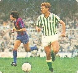 Liga 82-83. Parra (Real Betis) Ediciones Este.