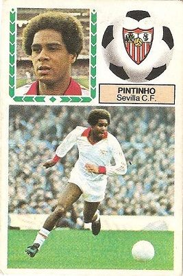 Liga 83-84. Pintinho (Sevilla C.F.). Ediciones Este.