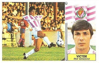 Liga 86-87. Víctor (Real Valladolid). Ediciones Este.