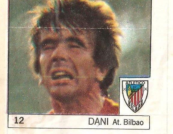 Super Cromos Los Mejores del Mundo (1981). Dani (Ath. Bilbao). Chicle Fútbol Boomer.