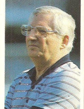 Eurocopa 1984. Jupp Derwall (Alemania Federal). Editorial Fans Colección.