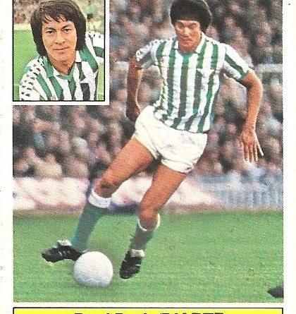 Liga 81-82. Diarte (Real Betis). Ediciones Este.