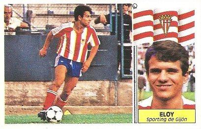 Liga 86-87. Eloy (Real Sporting de Gijón). Ediciones Este.