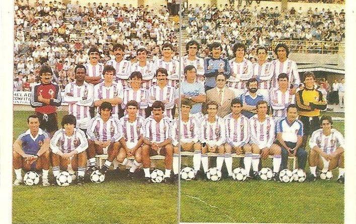 Trideporte 84. Plantilla Real Valladolid (Real Valladolid). Editorial Fher.