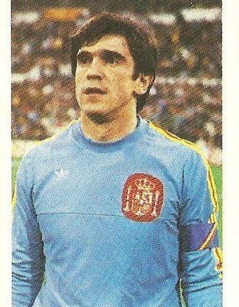 Eurocopa 1984. Arconada (España) Editorial Fans Colección.