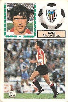 Liga 83-84. Dani (Ath. Bilbao). Ediciones Este.