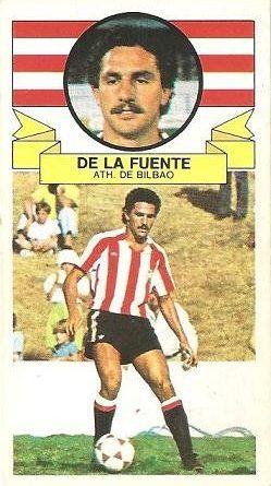 Liga 85-86. De la Fuente (Ath. Bilbao). Ediciones Este.