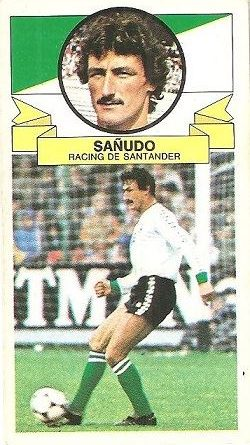 Liga 85-86. Sañudo (Racing de Santander). Ediciones Este.