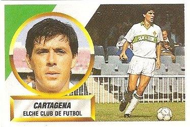 Liga 88-89. Cartagena (Elche C.F.). Ediciones Este.