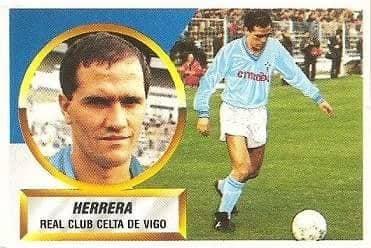 Liga 88-89. Herrera (Real Club Celta de Vigo). Ediciones Este.