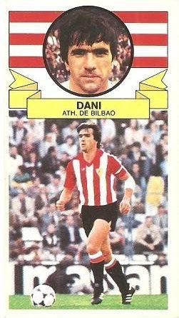 Liga 85-86. Dani (Ath. Bilbao). Ediciones Este.