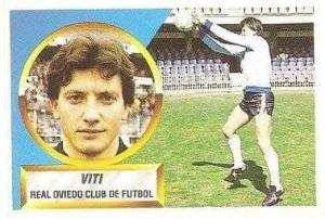 Liga 88-89. Viti (Real Oviedo). Ediciones Este.