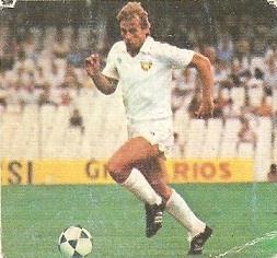 Liga 82-83. Idígoras (Valencia C.F.). Ediciones Este