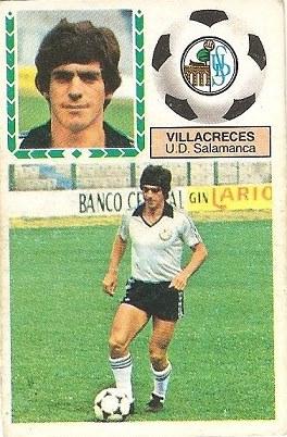 Liga 83-84. Villacreces (U.D. Salamanca). Ediciones Este.