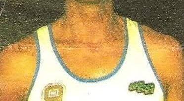 Liga Baloncesto 1985-1986. Mendiburu (Cacaolat Granollers). Chicle Gumtar.