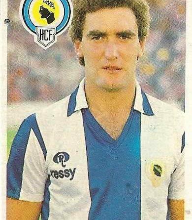 Diego Armando Maradona. Sus driblings. Sus goles. Liga 84-85. Herbera (Hércules C.F.). Cromo Esport.