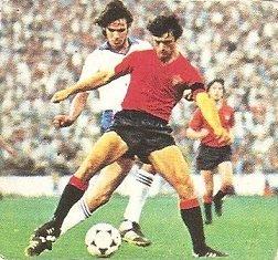Liga 82-83. Esparza (Club Atlético Osasuna). Ediciones Este.