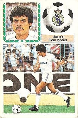 Liga 83-84. Julio (Real Madrid). Ediciones Este.