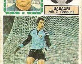 Liga 83-84. Basauri (Club Atlético Osasuna). Ediciones Este.