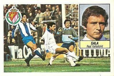 Liga 84-85. Sala (Coloca por Cendoya) (Real Valladolid). Ediciones Este.