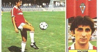 Liga 86-87. Víctor (Real Murcia). Ediciones Este.