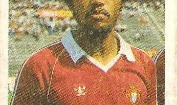 Eurocopa 1984. Sheu (Portugal). Editorial Fans Colección.