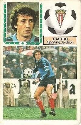 Liga 83-84. Castro (Sporting de Gijón). Ediciones Este.