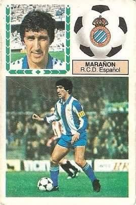 Liga 83-84. Marañón (R.C.D. Español). Ediciones Este.