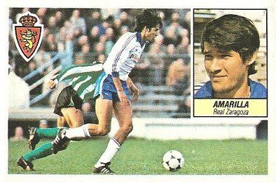Liga 84-85. Amarilla (Real Zaragoza). Ediciones Este.