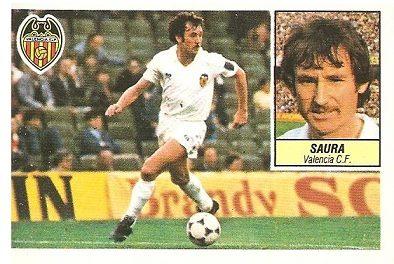 Liga 84-85. Saura (Valencia). Ediciones Este.