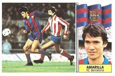Liga 86-87. Amarilla ( F.C. Barcelona). Ediciones Este.