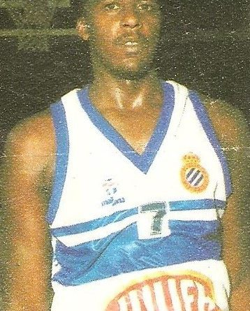 Liga Baloncesto 1985-1986. Vernon Smith (R.C.D. Español Juver). Chicle Gumtar.