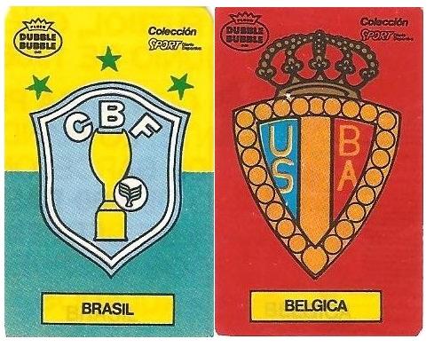 Mundial 1986. Brasil o Bélgica. Ediciones Dubble Dubble.