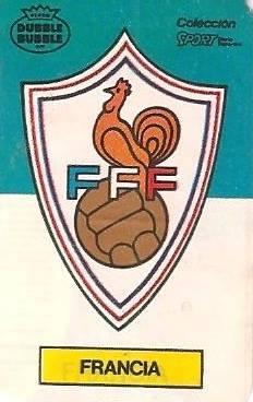 Mundial 1986. Francia. Ediciones Dubble Dubble.