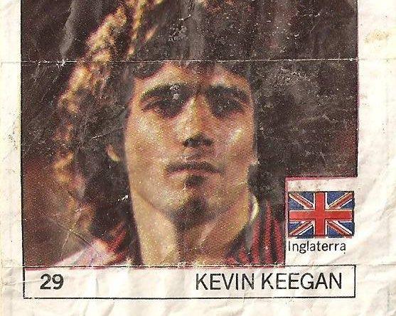 Super Cromos Los Mejores del Mundo (1981). Keegan (Inglaterra). Chicle Fútbol Boomer.