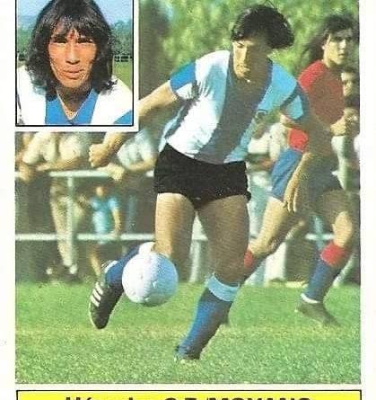 Liga 81-82. Moyano (Hércules C. F.) Ediciones Este.