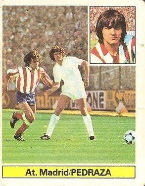 Liga 81-82. Pedraza (Atlético de Madrid). Ediciones Este.