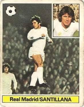Liga 81-82. Santillana (Real Madrid). Ediciones Este.