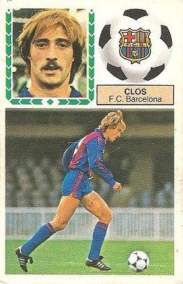 Liga 83-84. Clos (F.C. Barcelona). Ediciones Este.