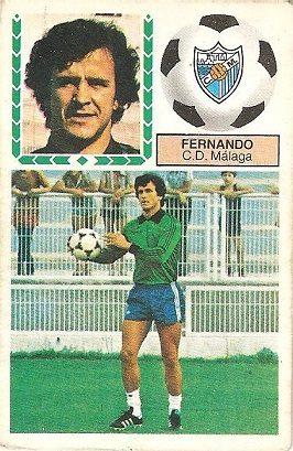 Liga 83-84. Fernando (C.D. Málaga). Ediciones Este.