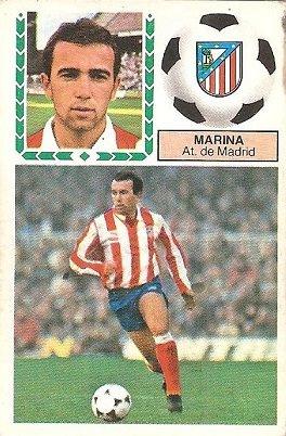 Liga 83-84. Marina (Atlético de Madrid). Ediciones Este.